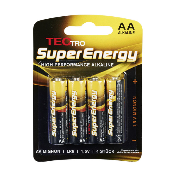 Tectro TecTro AA Mignon Batterien