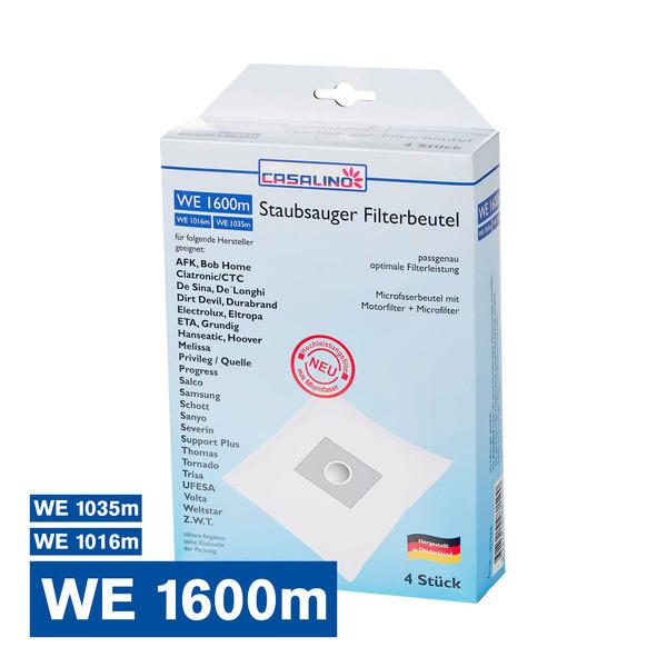 Casalino Staubsauger Filterbeutel WE 1600m / WE 1016m / WE 1035m