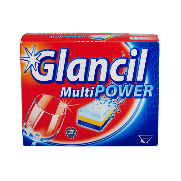 Glancil Glancil Multi Power Geschirrreiniger Tabs