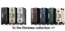Teaser Rimowa collection