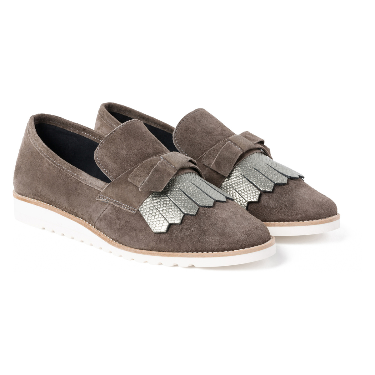 Slipper Lightweight Steingrau