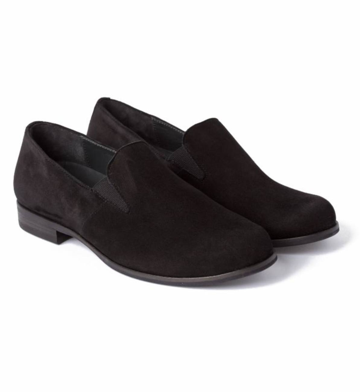 Business Slipper Schwarz