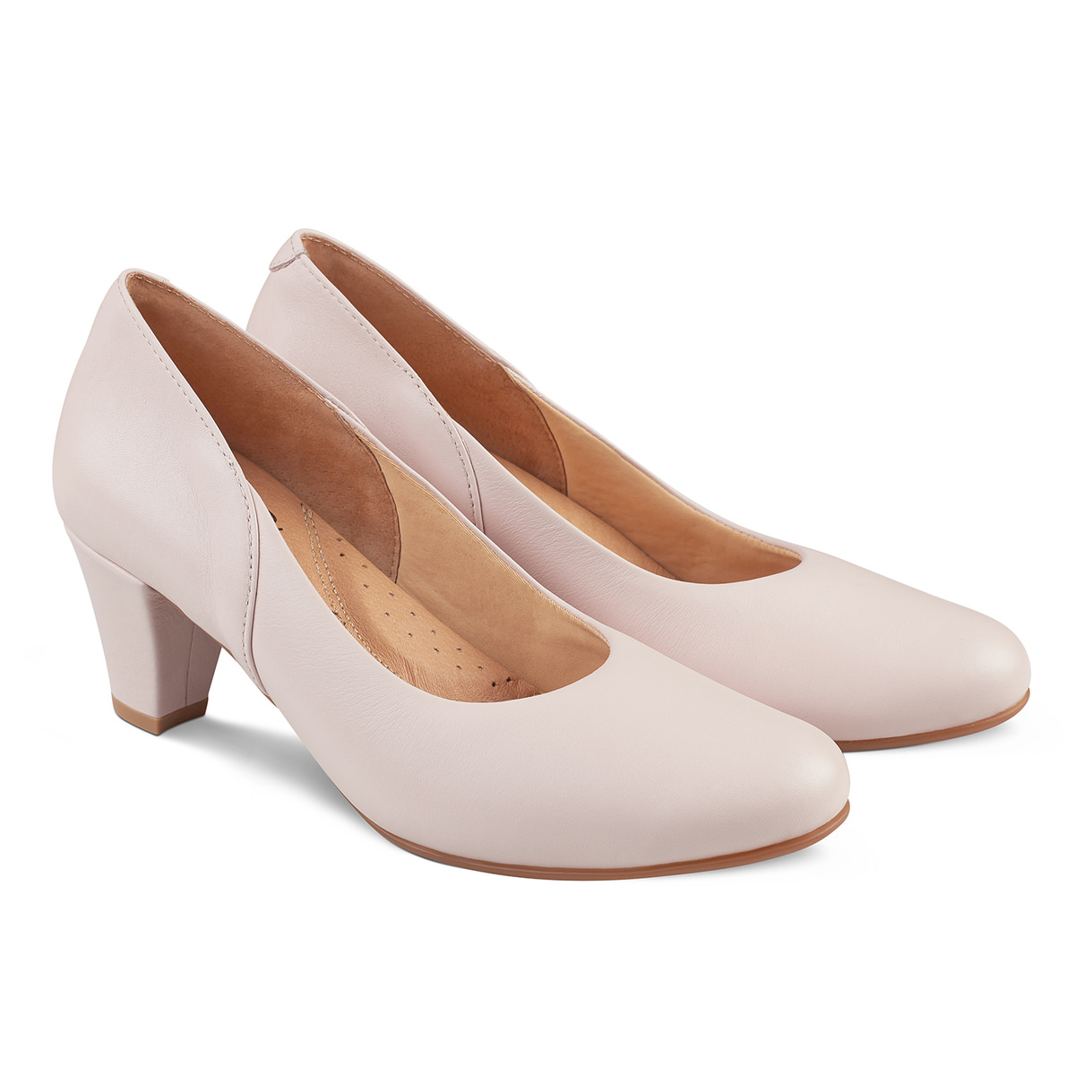 Pumps mit Softfußbett Lightrose