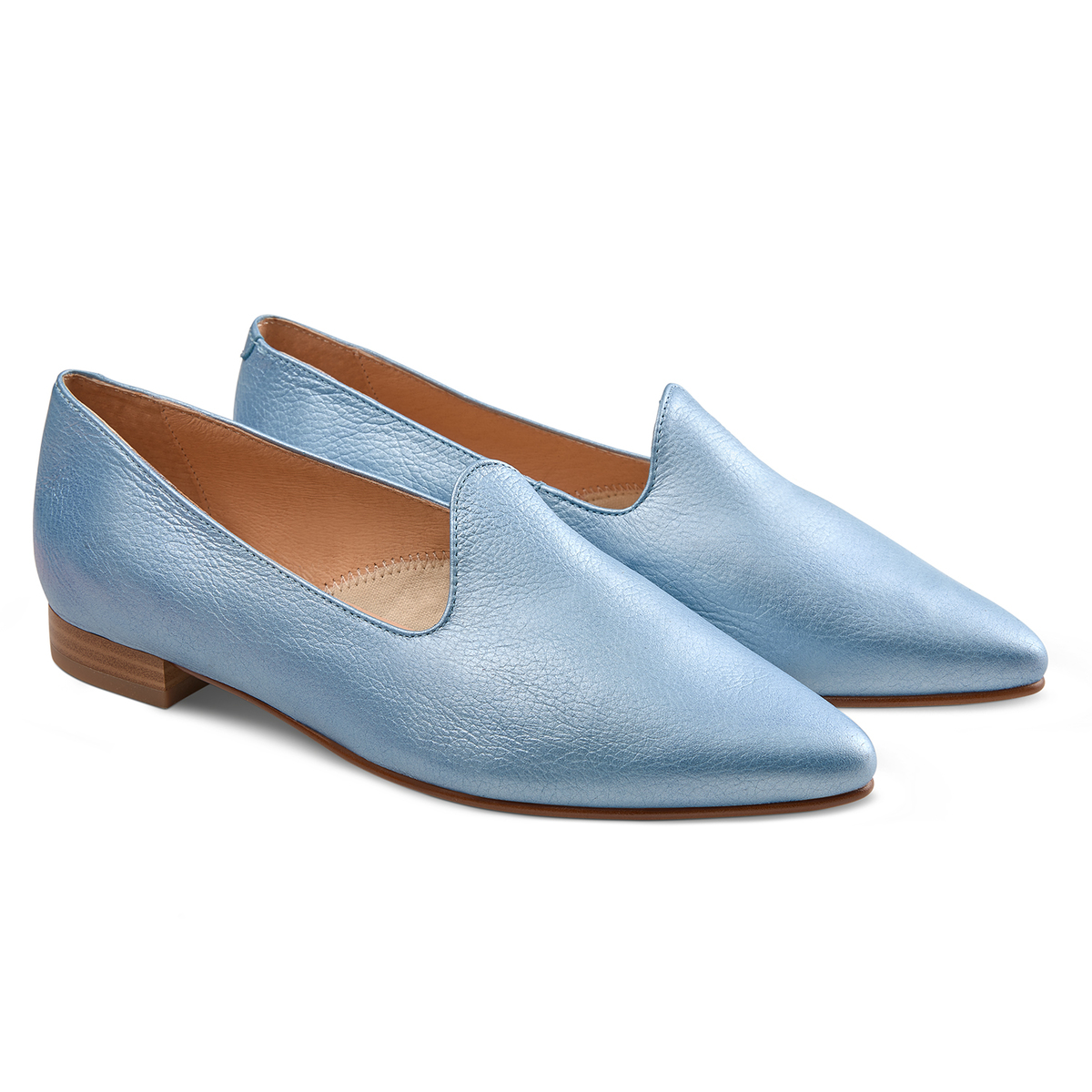 Loafer Candycolour Blau metallic