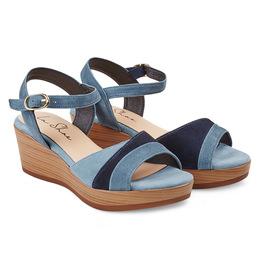 Sandale Jeansblau Auf Keilabsatz Keilabsatz Auf Keilabsatz Jeansblau Auf Sandale Sandale Jeansblau xshQrCdt