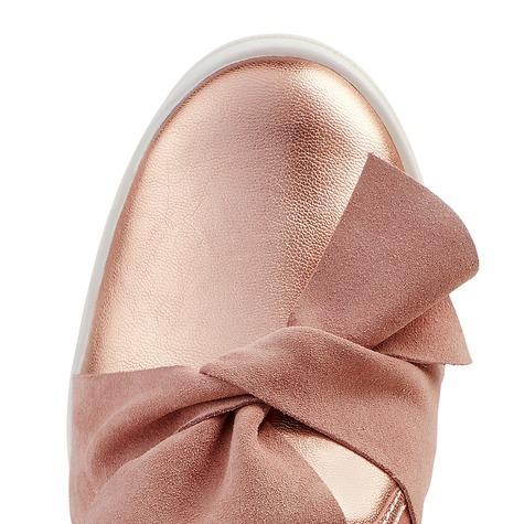 slipper mit schleife ros f r hallux valgus kaufen lashoe. Black Bedroom Furniture Sets. Home Design Ideas