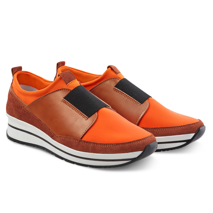 Orange Orange Sock Sock Sneaker Sneaker Sock QxsrdthCB