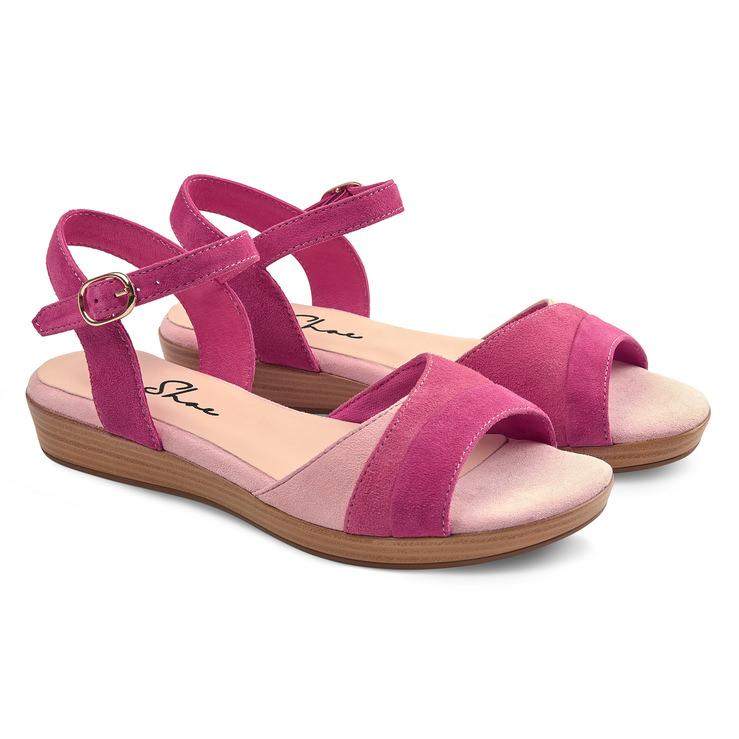Mini Pink Auf Auf Sandale Mini Keilabsatz Sandale Keilabsatz qMzGSUVLp