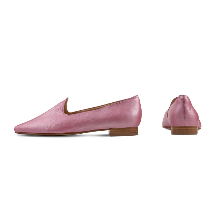 Loafer Candycolour Pink metallic
