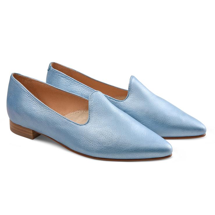 Loafer Candycolour Blau metallic
