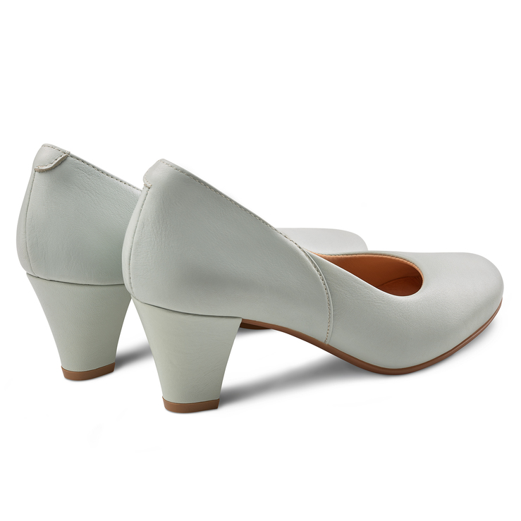 Pumps mit extra breitem Fußbett in Soft Beige Damen