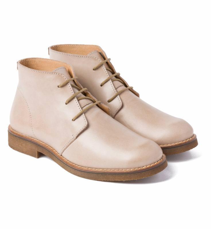 Desert Boot Beige – modischer und bequemer Schuh für Hallux valgus und empfindliche  Füße von LaShoe aee85ab1cb
