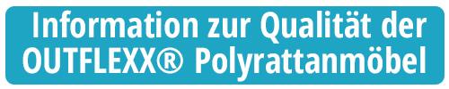 Qualitätshinweis Polyrattanmöbel