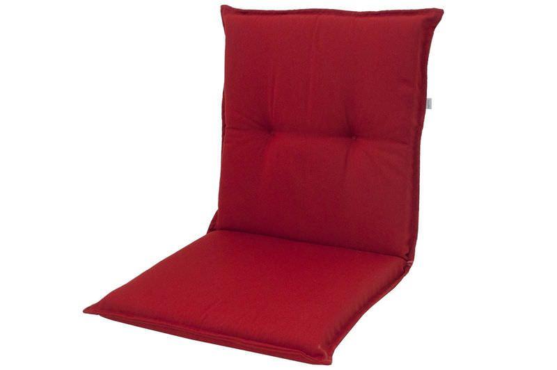 DOPPLER Stuhlauflage Niederlehner, bordeaux, Dralon, 100x50x7cm, mit DuPont Teflon Markenimprägnierung