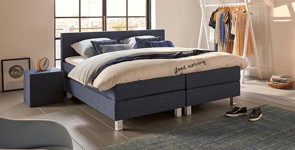 boxspringbett mio dormio arezzo denim im matratzen concord onlineshop zu bestem preis kaufen. Black Bedroom Furniture Sets. Home Design Ideas