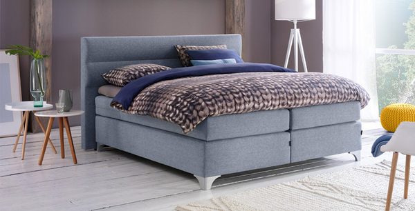 boxspringbett helsingborg lina denim im matratzen concord onlineshop zu bestem preis kaufen. Black Bedroom Furniture Sets. Home Design Ideas