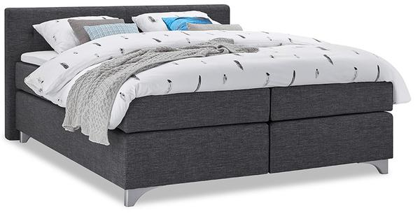 boxspringbett mio dormio vicenza anthrazit im matratzen concord onlineshop zu bestem preis. Black Bedroom Furniture Sets. Home Design Ideas