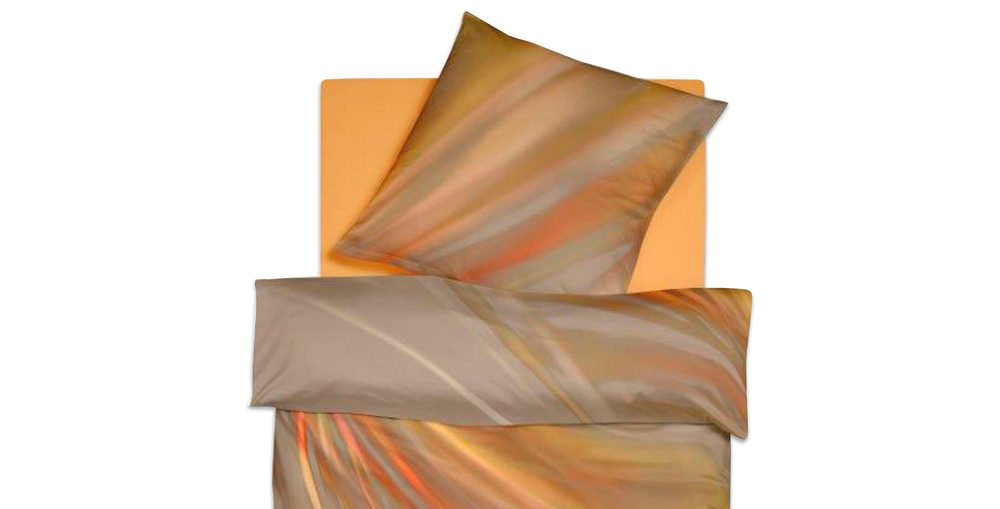 bettw sche baumwolle satin luciana orange im matratzen concord onlineshop zu bestem preis kaufen. Black Bedroom Furniture Sets. Home Design Ideas