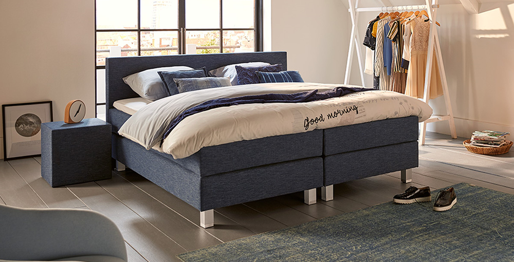 boxspringbett mio dormio avellino denim im matratzen concord onlineshop zu bestem preis kaufen. Black Bedroom Furniture Sets. Home Design Ideas