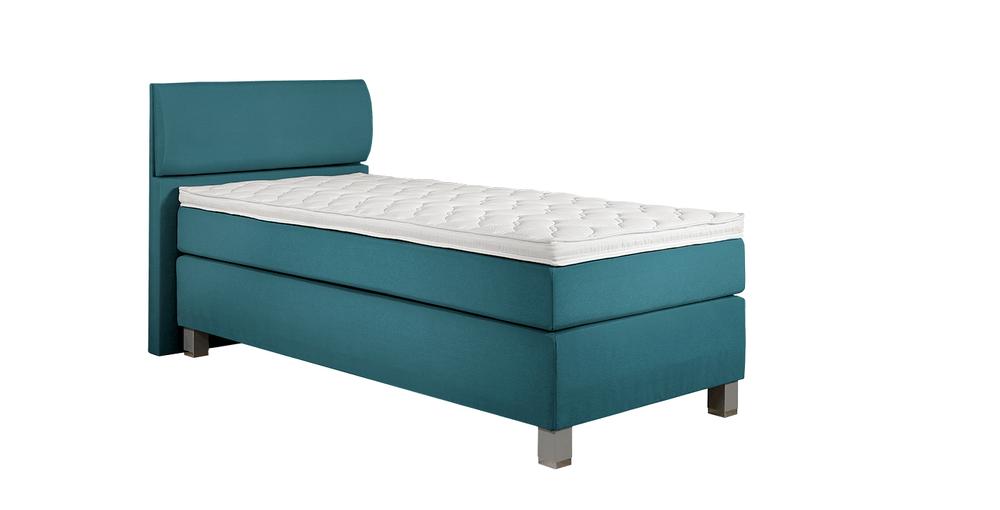 boxspringbett concord catalina petrol im matratzen. Black Bedroom Furniture Sets. Home Design Ideas