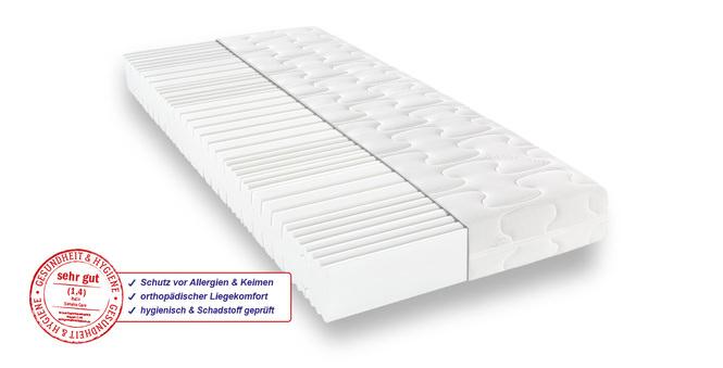 Komfortschaummatratze BeCo Sanalux Care 90x200 cm H2 - mittel bis 80 kg 19 cm hoch