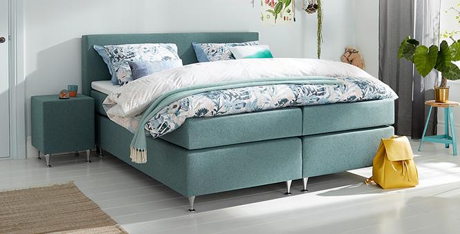 boxspringbett mio dormio milano hunter im matratzen. Black Bedroom Furniture Sets. Home Design Ideas