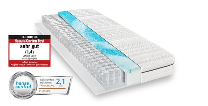 Taschenfederkernmatratze Concord Select Vitalis Spring 90x200 cm H2 - mittel bis 80 kg 23 cm hoch