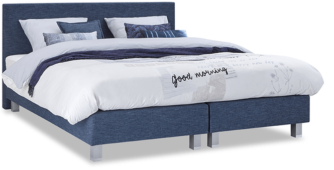 boxspringbett mio dormio arezzo bianco denim im matratzen concord onlineshop zu bestem preis. Black Bedroom Furniture Sets. Home Design Ideas