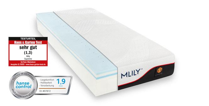 Taschenfederkernmatratze MLILY Supreme 100x200 cm 27 cm hoch