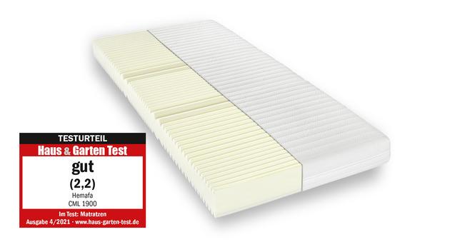 Komfortschaummatratze Murmelland CML 1900 90x200 cm H3 - fest bis 100 kg 19 cm hoch