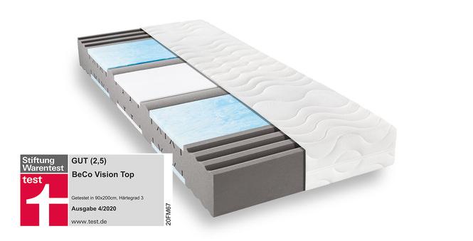 Komfortschaummatratze BeCo Vision Top 140x200 cm H2 - mittel bis 80 kg 22 cm hoch