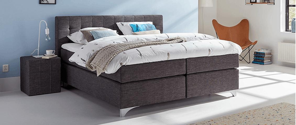 boxspringbett mio dormio firenze anthrazit im matratzen concord onlineshop zu bestem preis. Black Bedroom Furniture Sets. Home Design Ideas