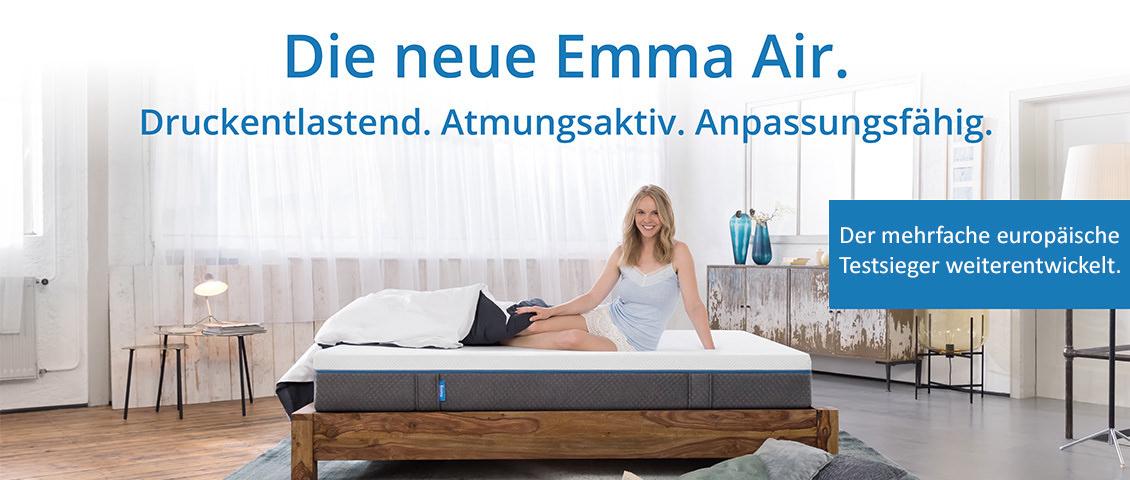 Emma Air Neu im Matratzen Concord lineshop zu bestem Preis