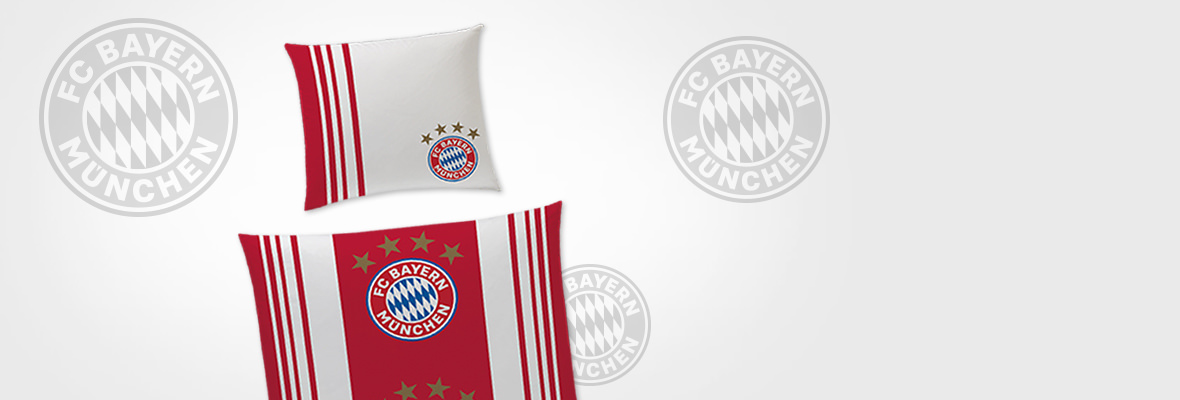 fc bayern bundesliga bettw sche im matratzen concord onlineshop zu bestem preis kaufen. Black Bedroom Furniture Sets. Home Design Ideas