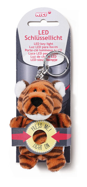 LED plush key light Tiger Jerome