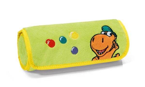 Pencil case Little Dragon Coconut with 10 coloured pencils