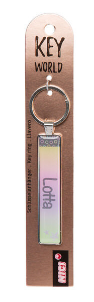 Keyring Key World 'Lotta'