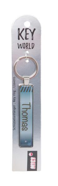 Schlüsselanhänger Key World 'Thomas'