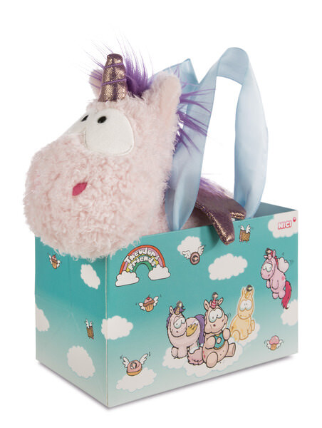 Cuddly toy unicorn Cloud Dreamer in LED bag