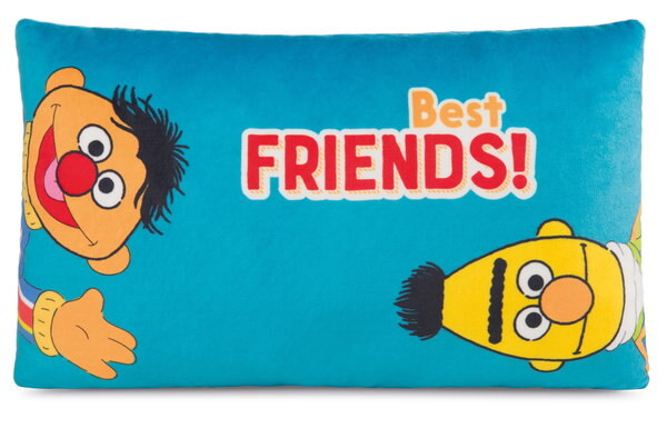 Rectangular cushion Ernie and Bert