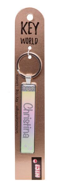 Schlüsselanhänger Key World 'Christina'