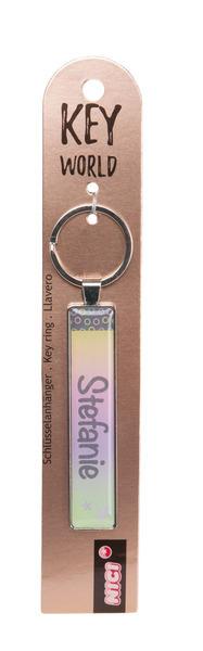 Schlüsselanhänger Key World 'Stefanie'