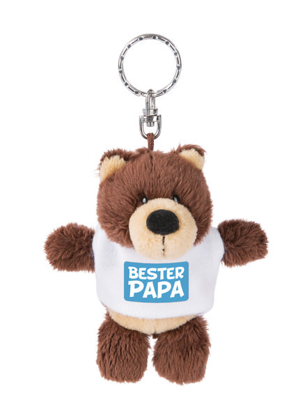 Keyring bear 'Bester Papa'