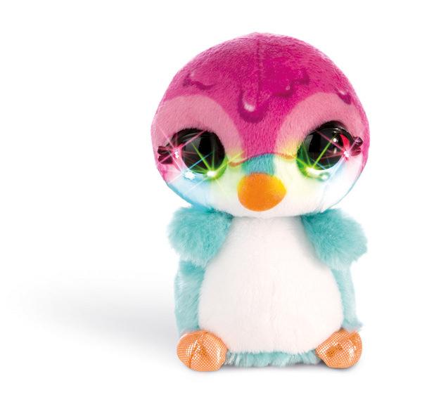 Flashies Kuscheltier Pinguin Deezy mit LED-Augen