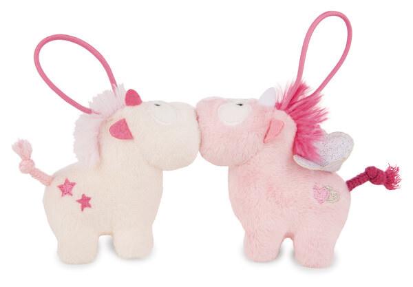 Couple-pendants unicorns Theodor and Pink Harmony