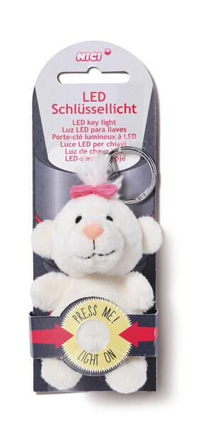 LED plush key light bear little bear sister