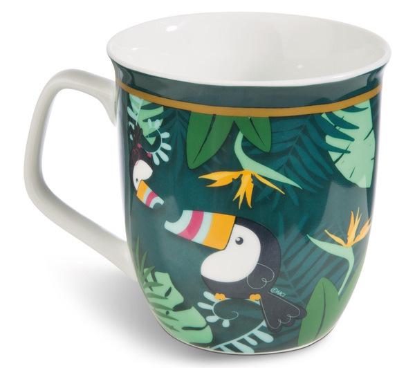 Porcelain mug Toucan