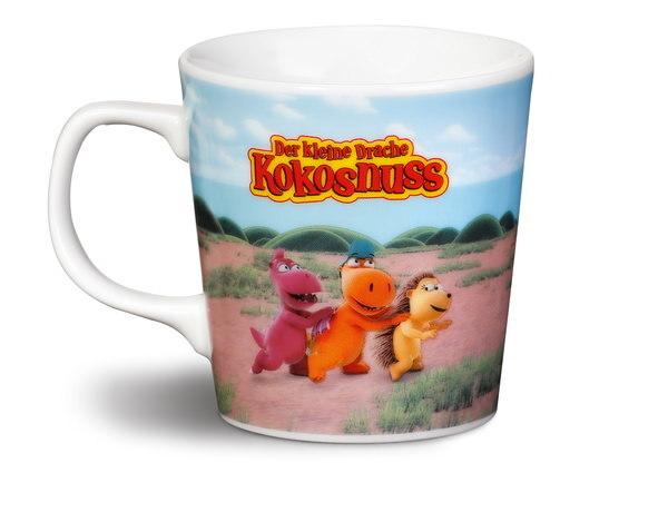 Porcelain mug Little Dragon Coconut