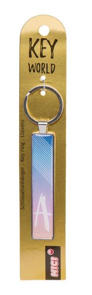 Schlüsselanhänger Key World 'A'
