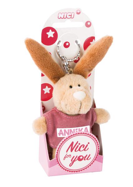 Keyring rabbit Annika